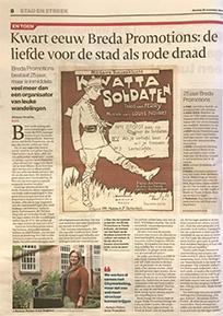 Kwart eeuw Breda Promotions